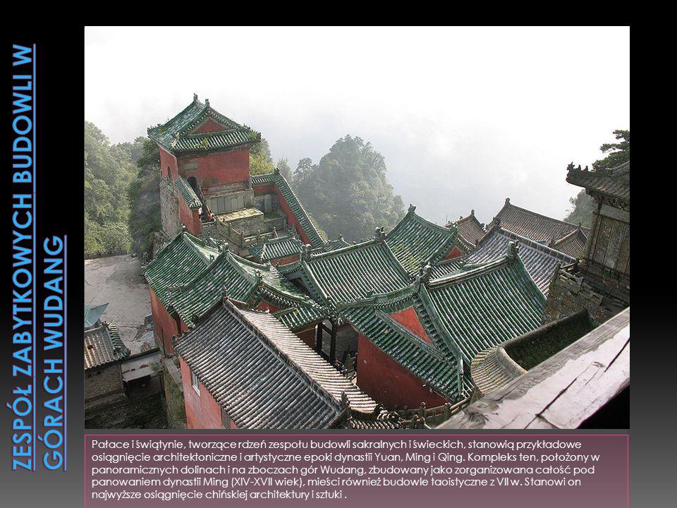 Obszar góry Lushan, w prowincji Jiangxi, jest jednym z ośrodków duchowych cywilizacji chińskiej. Świątynie buddyjskie i taoistyczne oraz najważniejsze