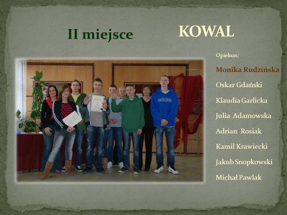 Mateusz Tomaszewski Dawid Rudziński Michał Dziecic- Kamiński Edyta Kaczmarek Magdalena Tomaszewska Ewelina Kosińska