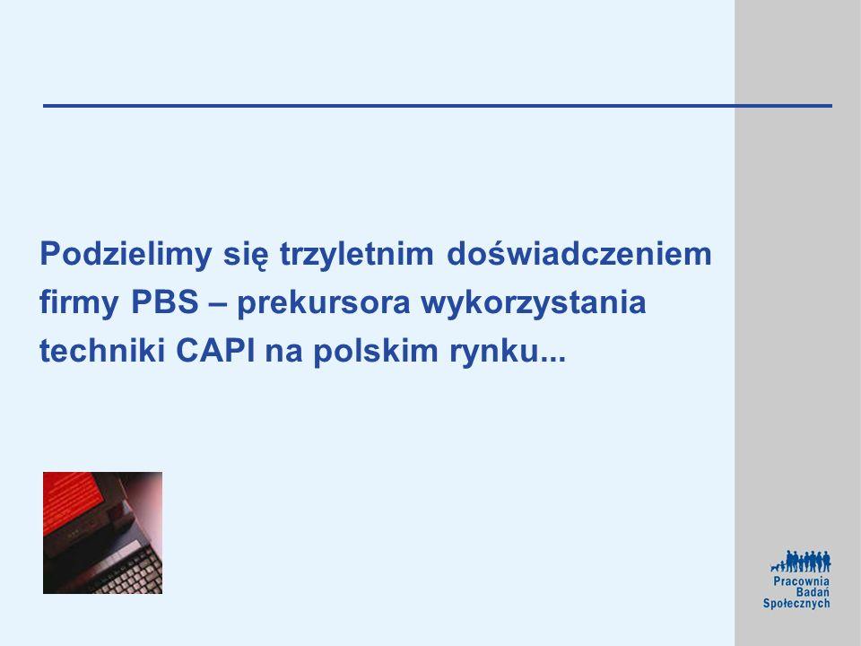 Podzielimy się trzyletnim doświadczeniem firmy PBS – prekursora wykorzystania techniki CAPI na polskim rynku...