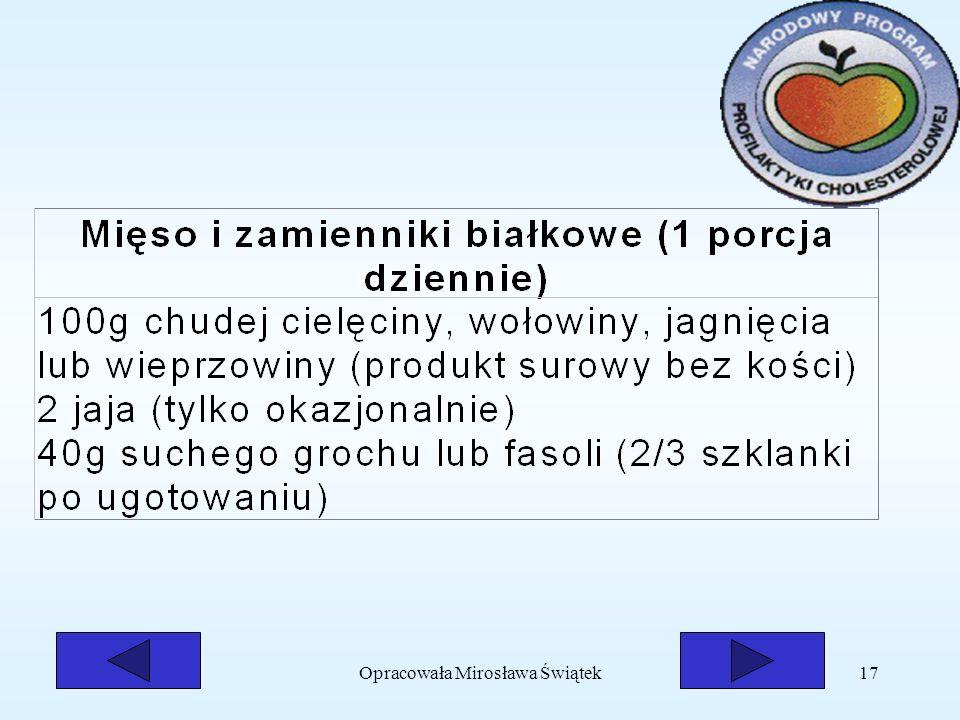 Opracowała Mirosława Świątek17