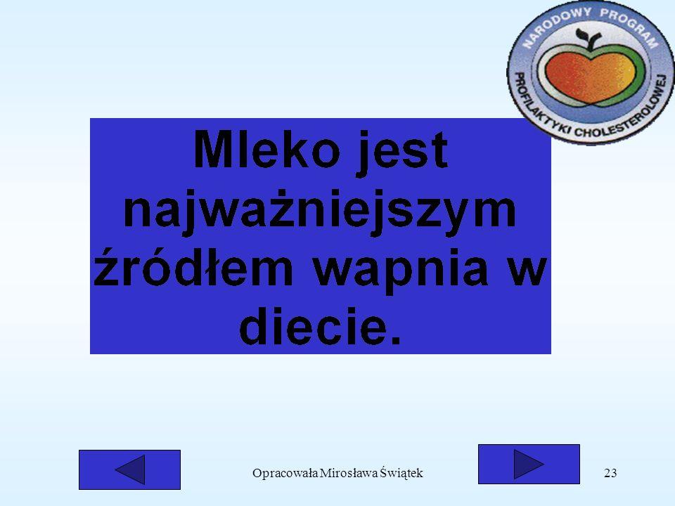 Opracowała Mirosława Świątek23
