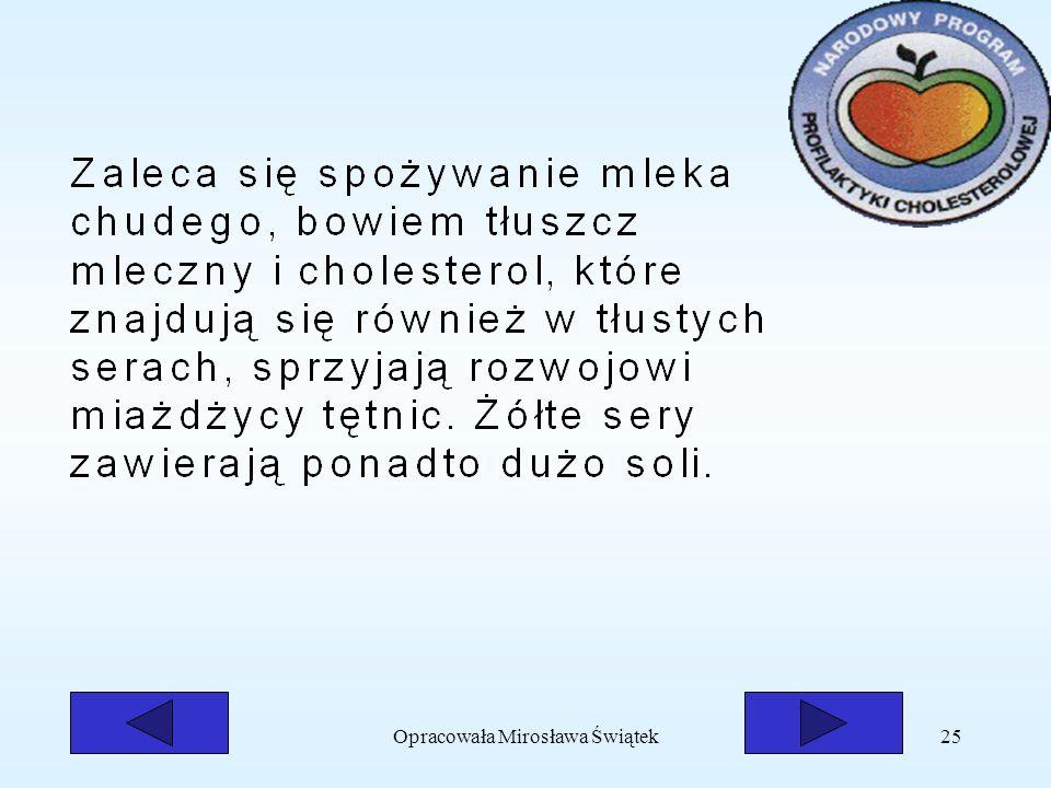 Opracowała Mirosława Świątek25