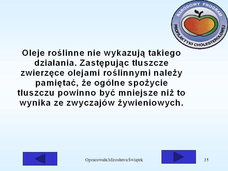 Opracowała Mirosława Świątek35