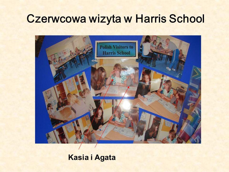Czerwcowa wizyta w Harris School Kasia i Agata