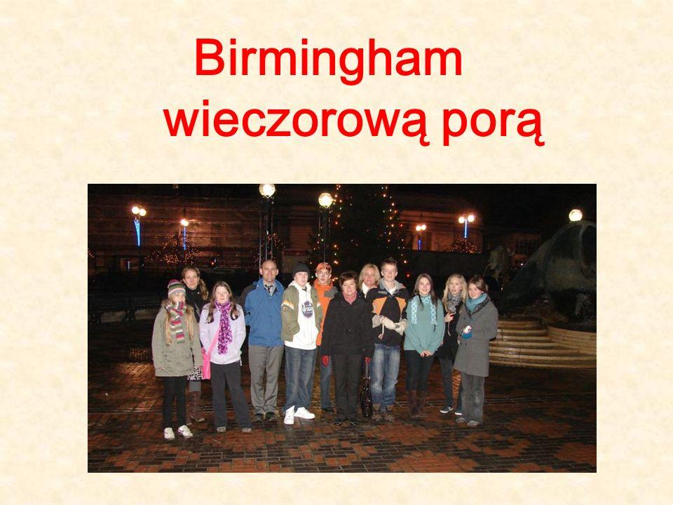 Birmingham wieczorową porą