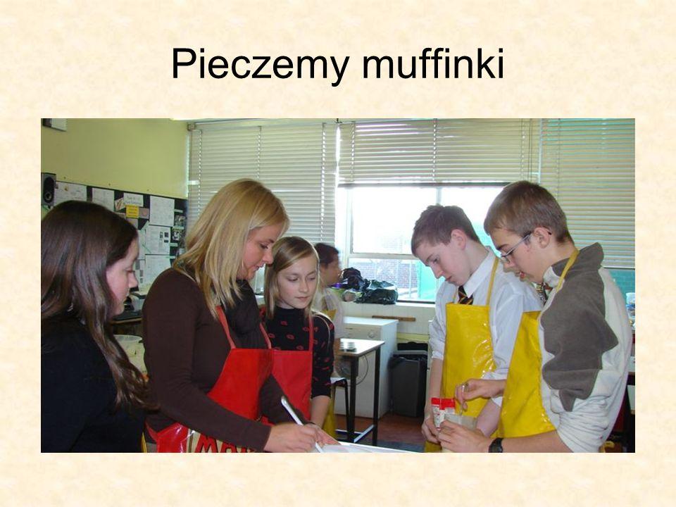 Pieczemy muffinki