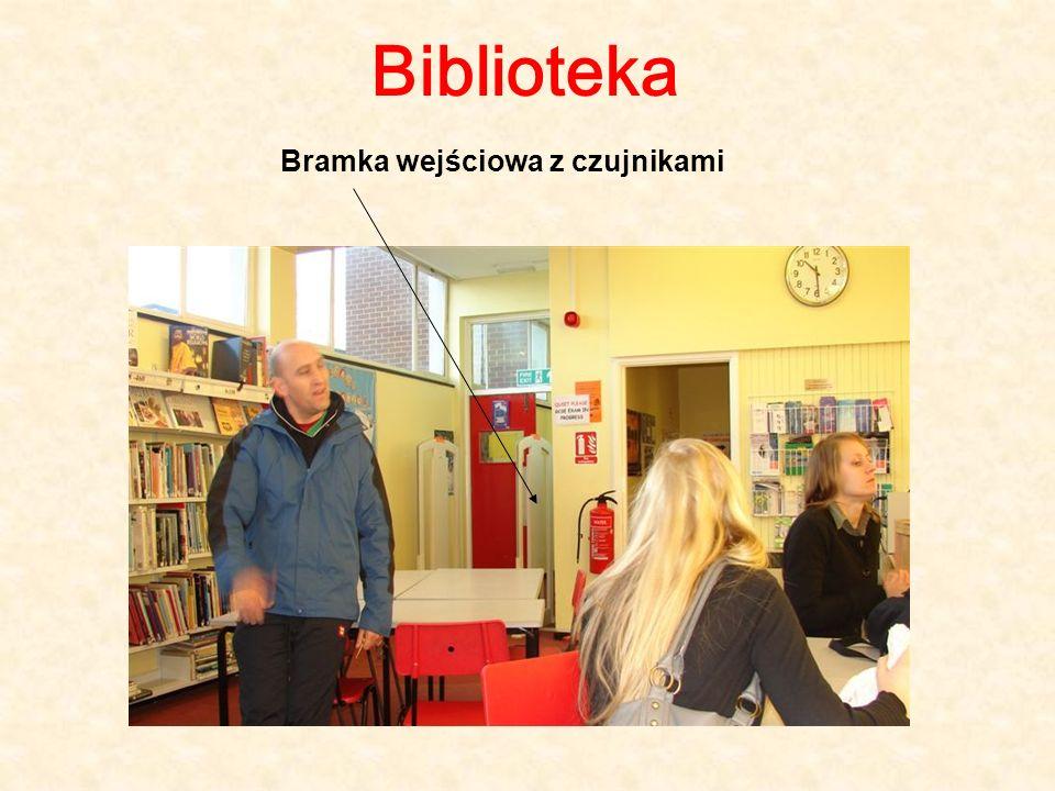 Biblioteka Bramka wejściowa z czujnikami