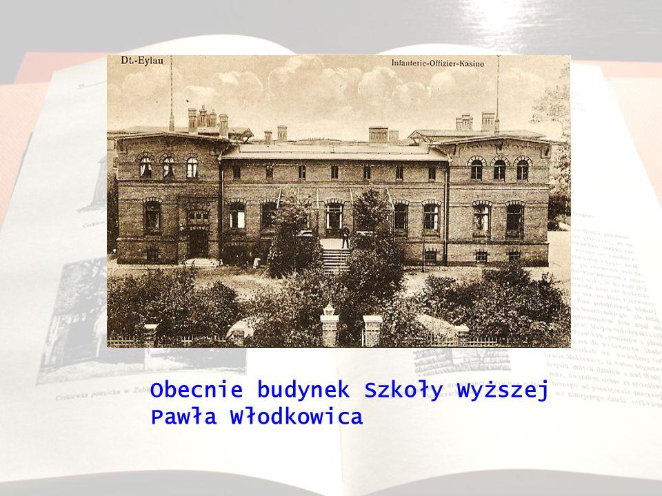 Obecnie budynek Szkoły Wyższej Pawła Włodkowica