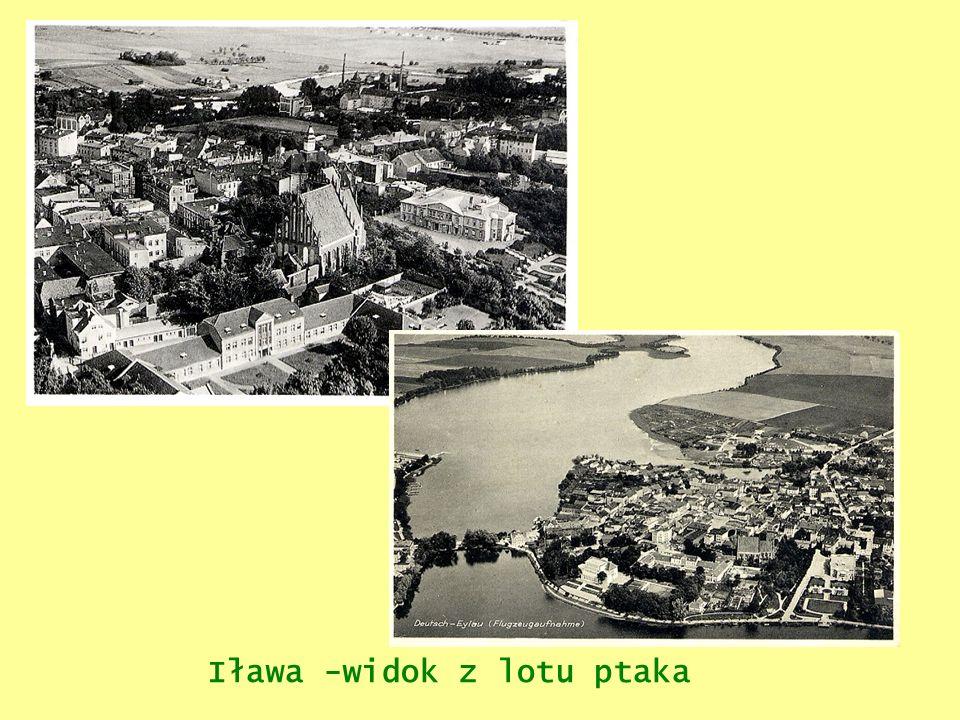 Iława -widok z lotu ptaka