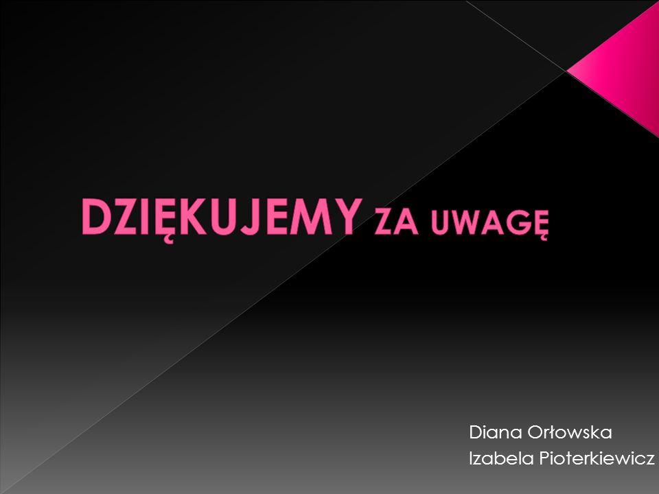 Diana Orłowska Izabela Pioterkiewicz