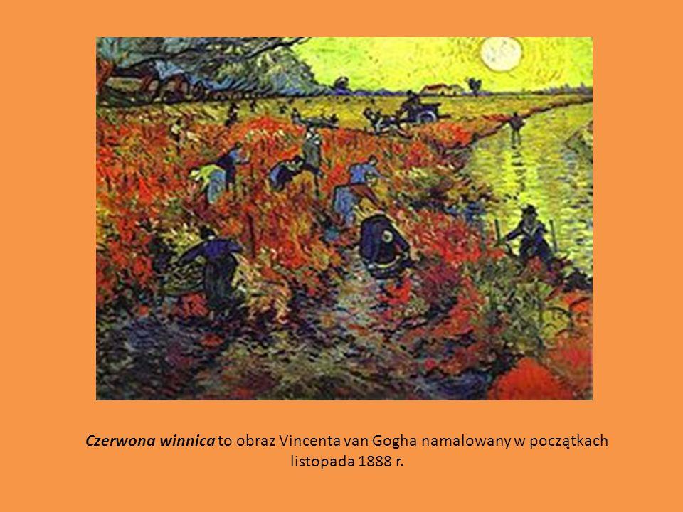 Czerwona winnica to obraz Vincenta van Gogha namalowany w początkach listopada 1888 r.
