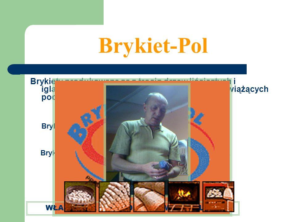 Brykiet-Pol Brykiety produkowane są z trocin drzew liściastych i iglastych prasowanych bez dodatku substancji wiążących pod wysokim ciśnieniem. Brykie