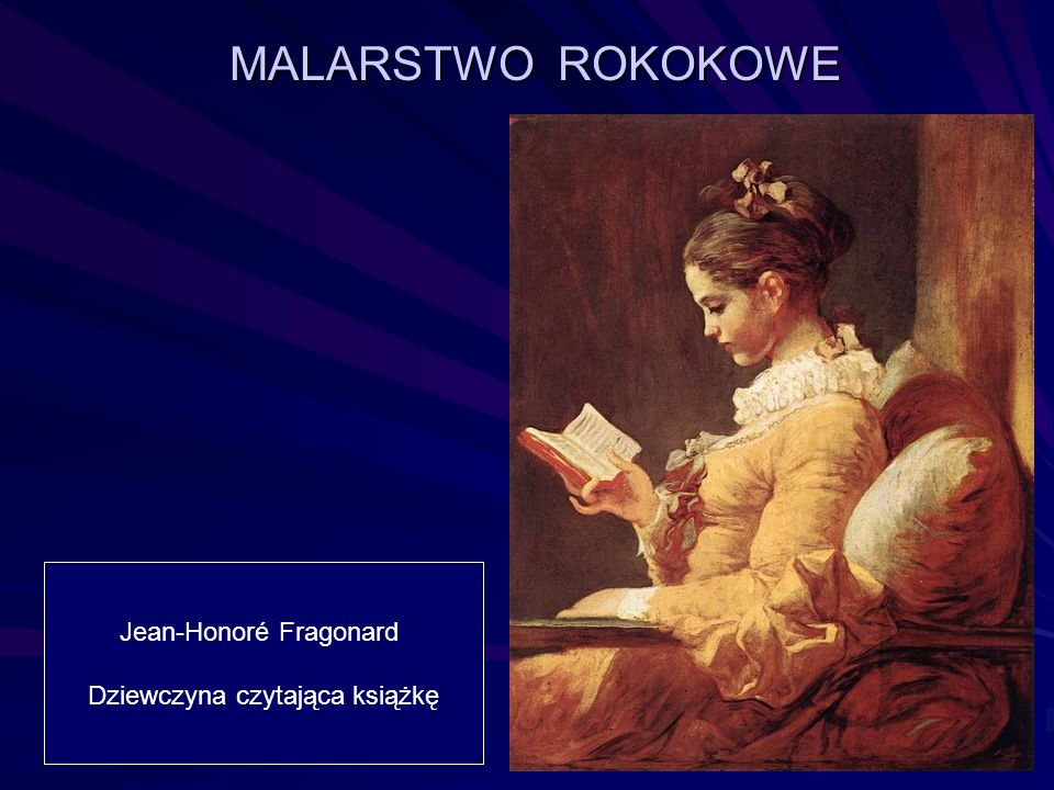 Jean-Honoré Fragonard Dziewczyna czytająca książkę
