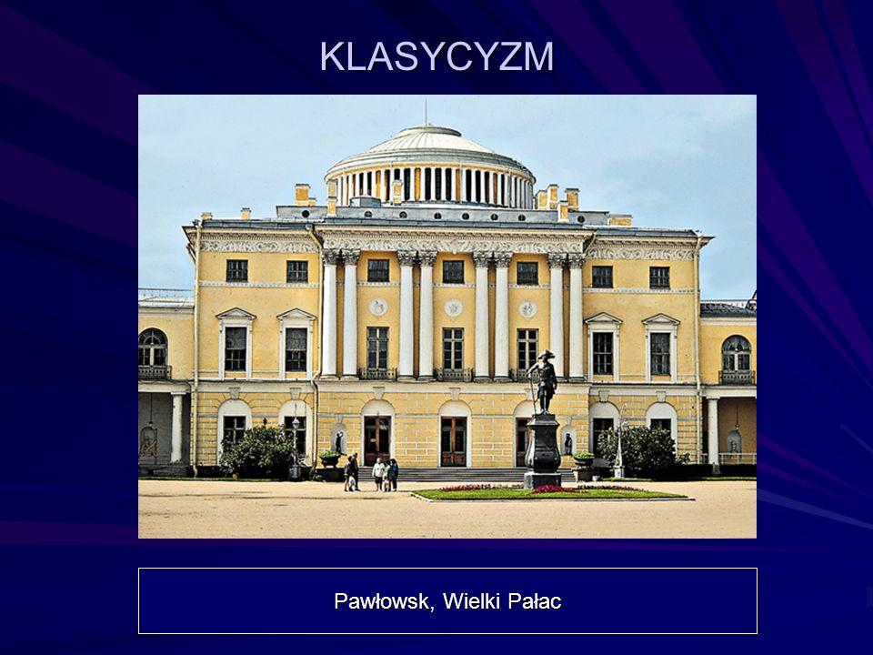 KLASYCYZM Pawłowsk, Wielki Pałac