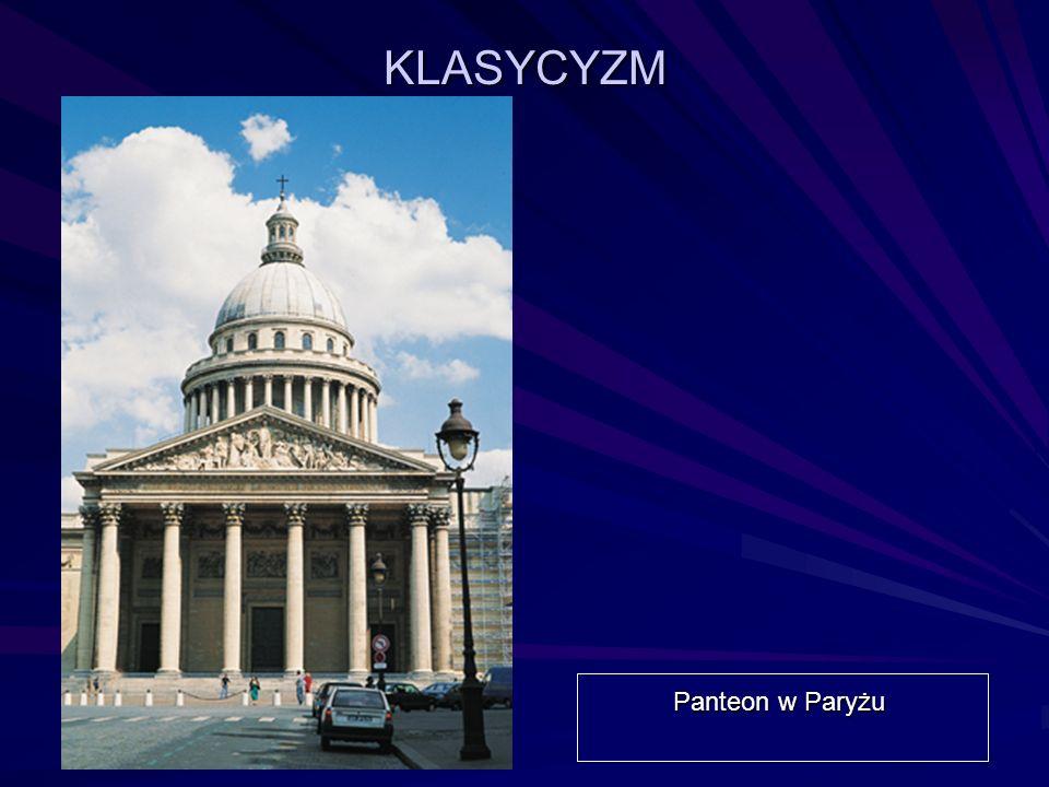 KLASYCYZM Panteon w Paryżu