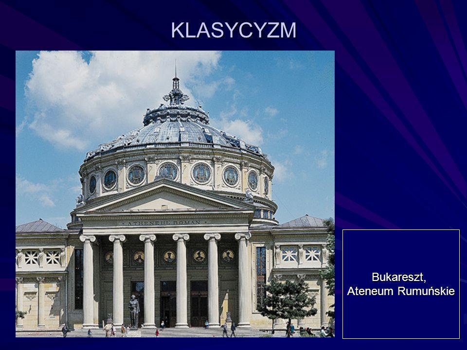 KLASYCYZM Bukareszt, Ateneum Rumuńskie