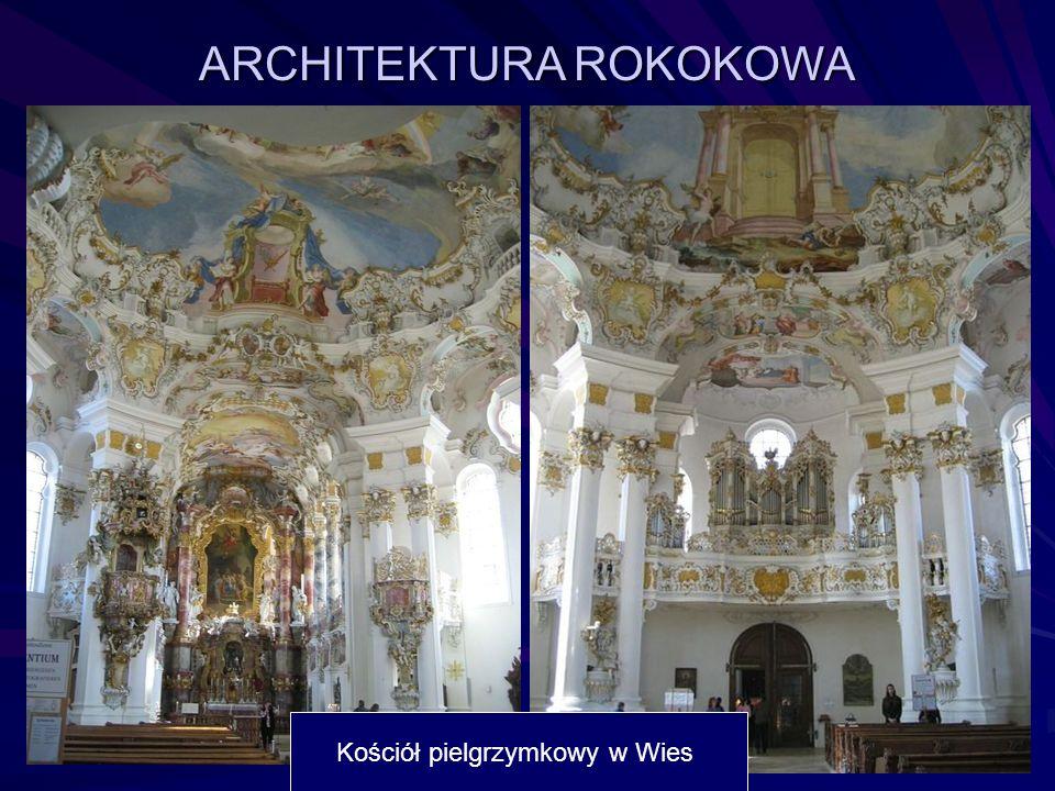 ARCHITEKTURA ROKOKOWA Kościół pielgrzymkowy w Wies