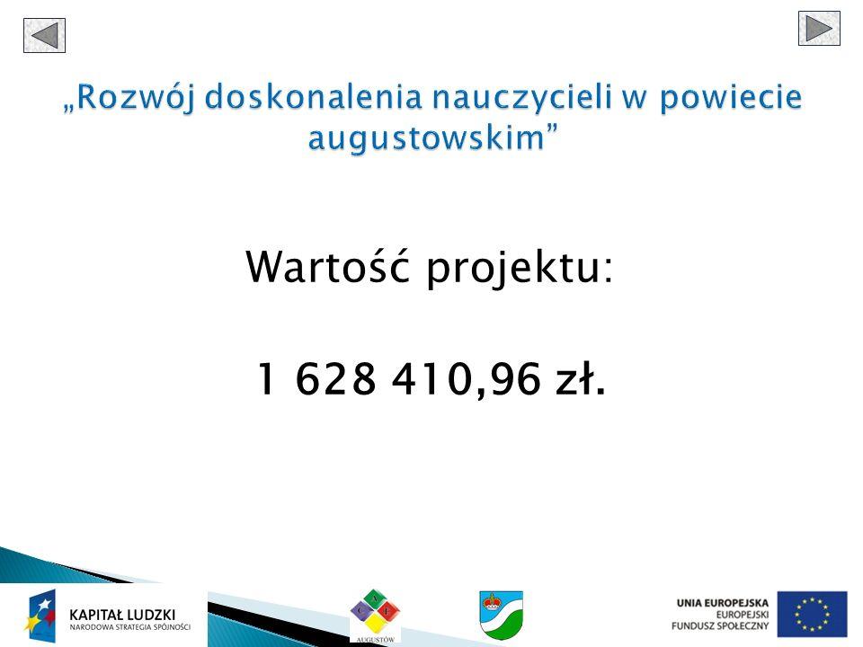 Wartość projektu: 1 628 410,96 zł.