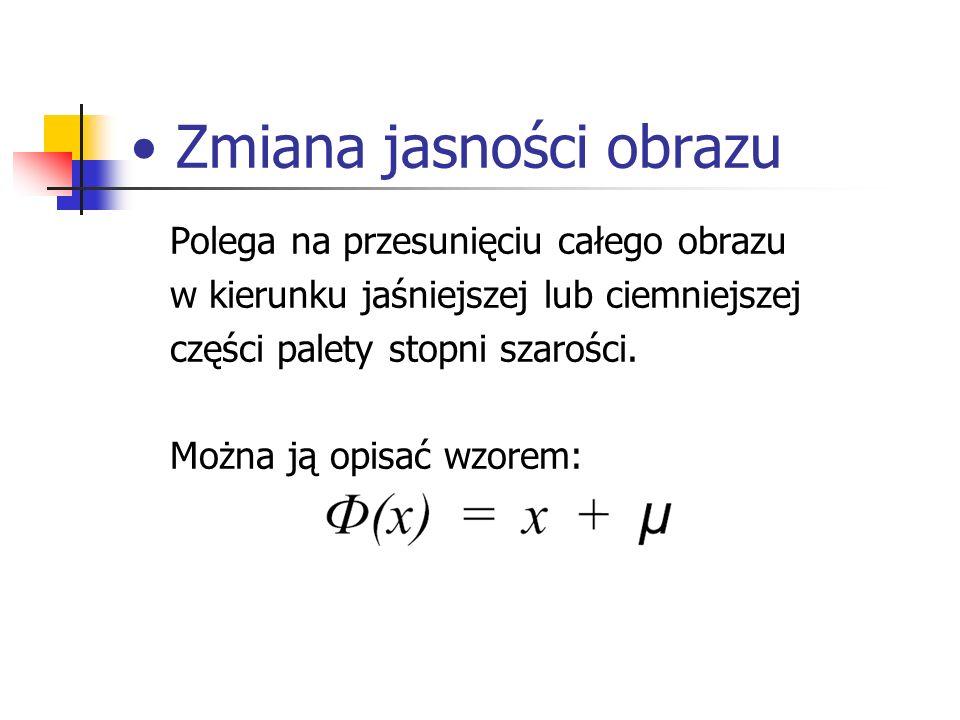 Transformacja Fouriera Jest ona przekształceniem widmowym.