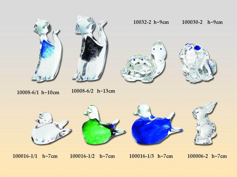 10008-6/1 h~10cm 10008-6/2 h~13cm 10032-2 h~9cm100030-2 h~9cm 100016-1/1 h~7cm100016-1/2 h~7cm100016-1/3 h~7cm100006-2 h~7cm
