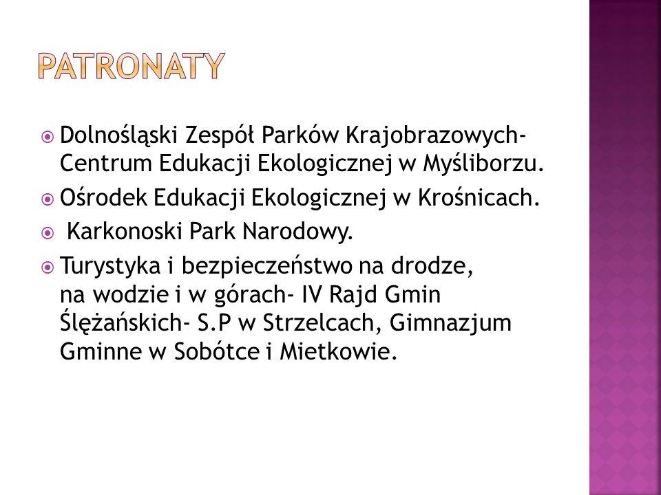 Dolnośląski Zespół Parków Krajobrazowych- Centrum Edukacji Ekologicznej w Myśliborzu.