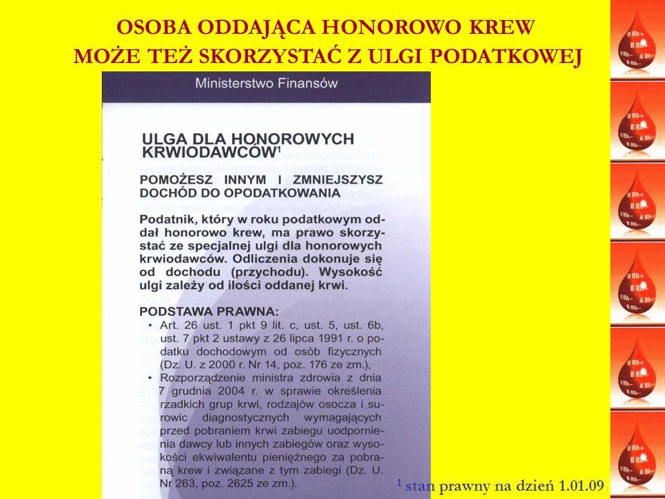 www.dawcom.wierch.pl Obiekty uczestniczące w Akcji DAWCOM W DARZE oferują 20% rabatu noclegowego dla aktywnych Honorowych Dawców Krwi.