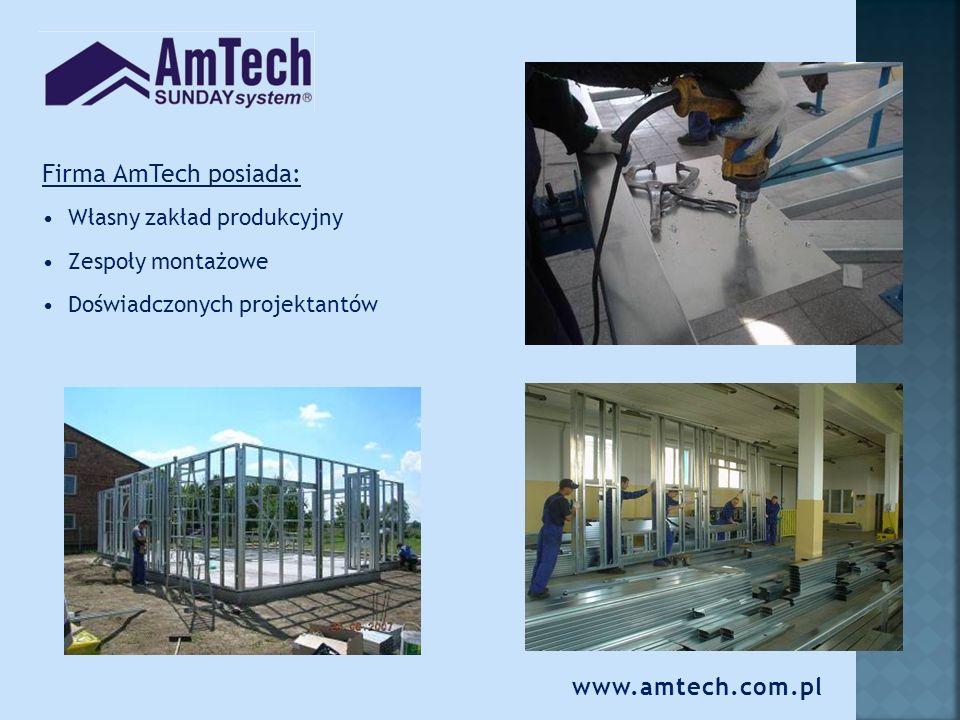www.amtech.com.pl Kim są nasi klienci Developerzy Instytucje i prywatni inwestorzy zainteresowani szybką i solidną technologią budowy funkcjonalnych i energooszczędnych budynków.
