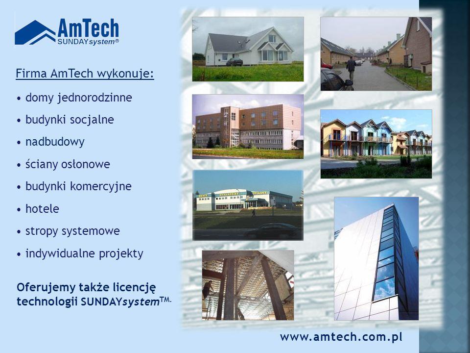 Technologia zapewnia SUNDAYsystem TM : Minimalne oddziaływanie na środowisko na etapie budowy i w trakcie użytkowania obiektu Jeden dom drewniany Dom SUNDAYsystem TM 10 arów lasu Trzy zezłomowane samochody