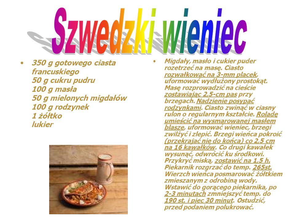Składniki: - 1 słoik śledzi marynowanych (płaty, koniecznie marynowane, nie słone!!!), - 2 jajka, - śmietana, - cukier, - pieprz, - sól, - cebula. Por