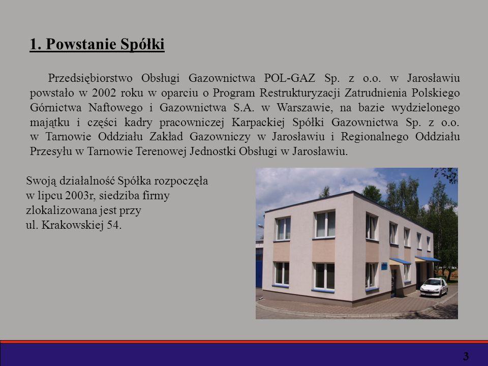 PGNIG S.A.w Warszawie Karpacka Spółka Gazownictwa Sp.