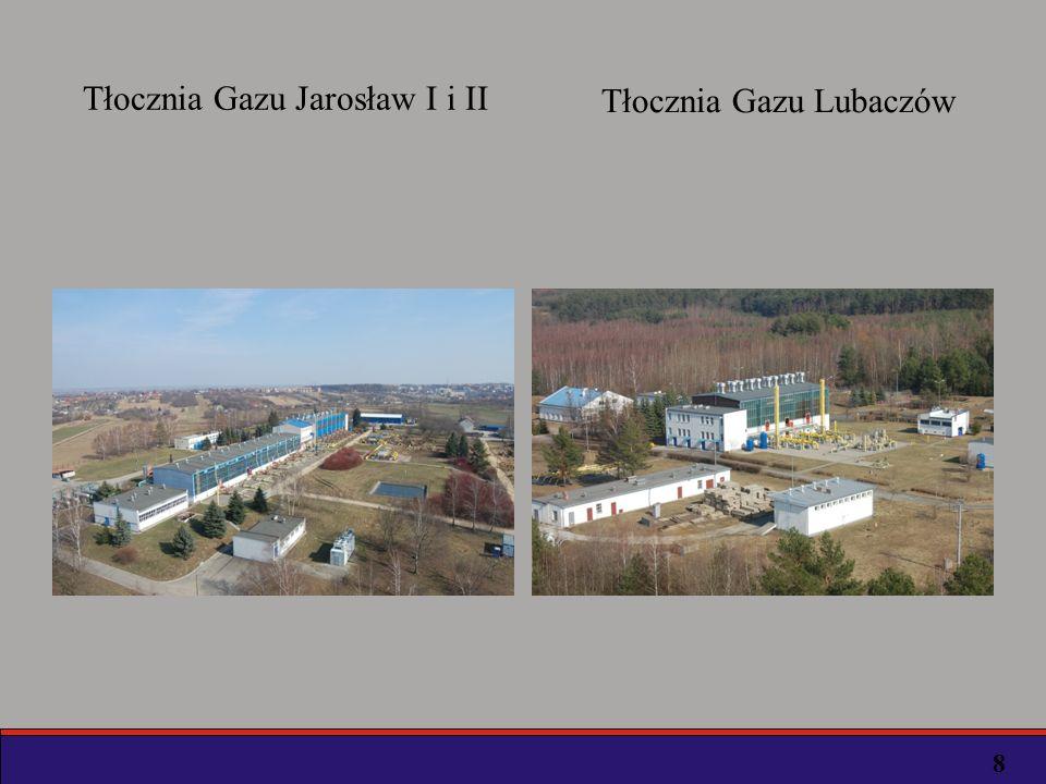 Podobną, równie nie mniej ważną rolę w przesyle i dystrybucji gazu ziemnego do odbiorców, spełniają obiekty Stacji Redukcyjno-Pomiarowych Gazu I i II stopnia redukcji ciśnienia.