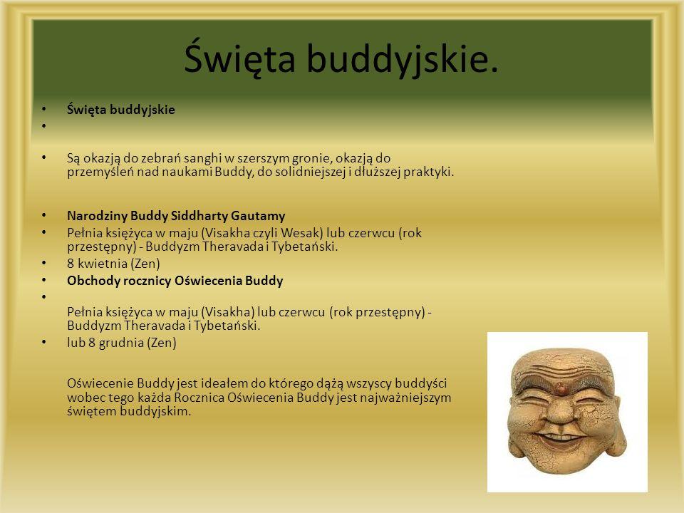 Święta buddyjskie.