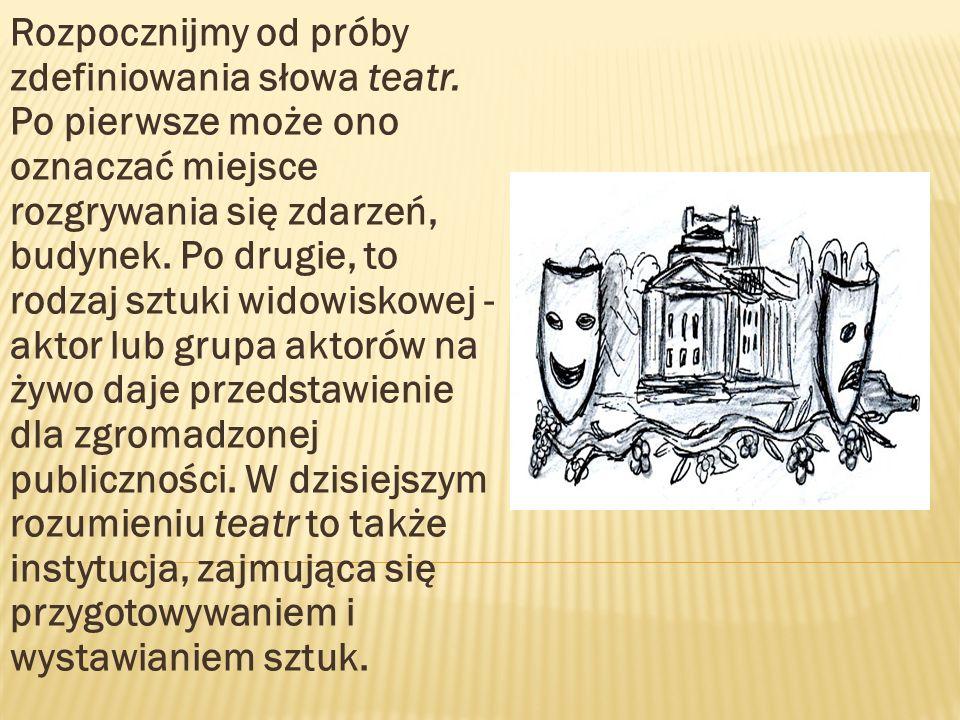 ( VI w.p.n.e.) wprowadził pierwszego aktora, pochodził z gminy Ikaria.