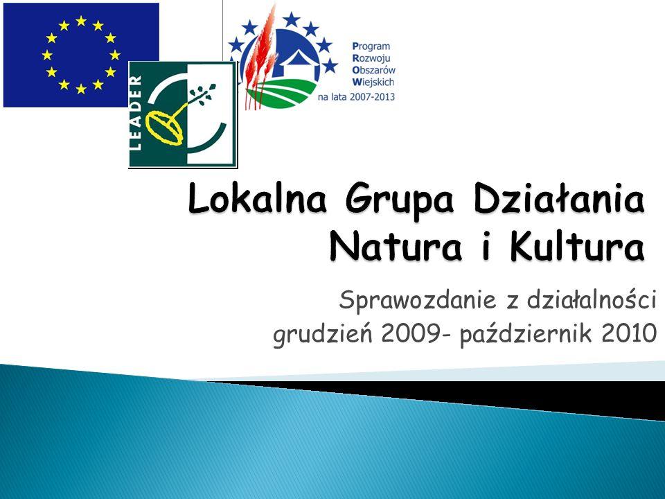 Odnowa i rozwój wsi- pula 372 000 PLN Wykorzystano: 326 303,36 PLN Niewykorzystano: 45 696,64 PLN