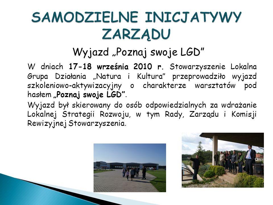 Wyjazd Poznaj swoje LGD W dniach 17-18 września 2010 r.