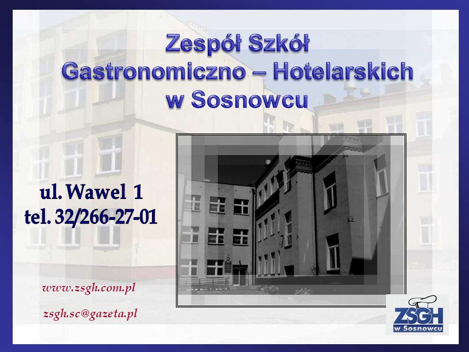 www.zsgh.com.pl zsgh.sc@gazeta.pl