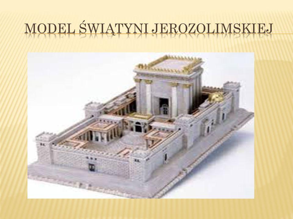 W jej wnętrzu przechowywano największą świętość religii żydowskiej – arkę przymierza, to znaczy skrzynię, w której znajdowały się dwie kamienne tablice z 10 przykazaniami.