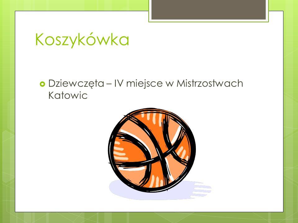 Koszykówka Dziewczęta – IV miejsce w Mistrzostwach Katowic