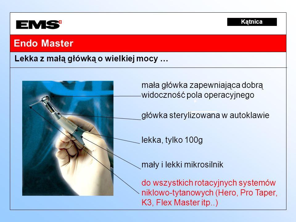 200mm Kątnica Lekka z małą główką o wielkiej mocy … Endo Master mała główka zapewniająca dobrą widoczność pola operacyjnego główka sterylizowana w aut