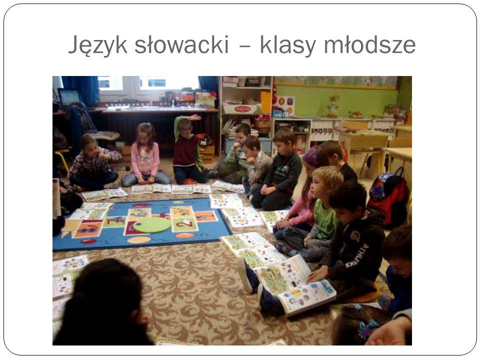 Język słowacki – klasy młodsze