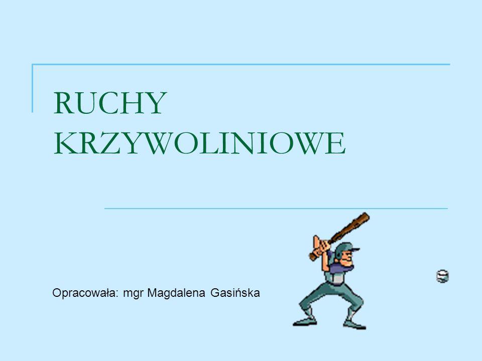 RUCHY KRZYWOLINIOWE Opracowała: mgr Magdalena Gasińska