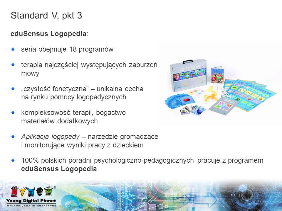 eduSensus Logopedia: seria obejmuje 18 programów terapia najczęściej występujących zaburzeń mowy czystość fonetyczna – unikalna cecha na rynku pomocy