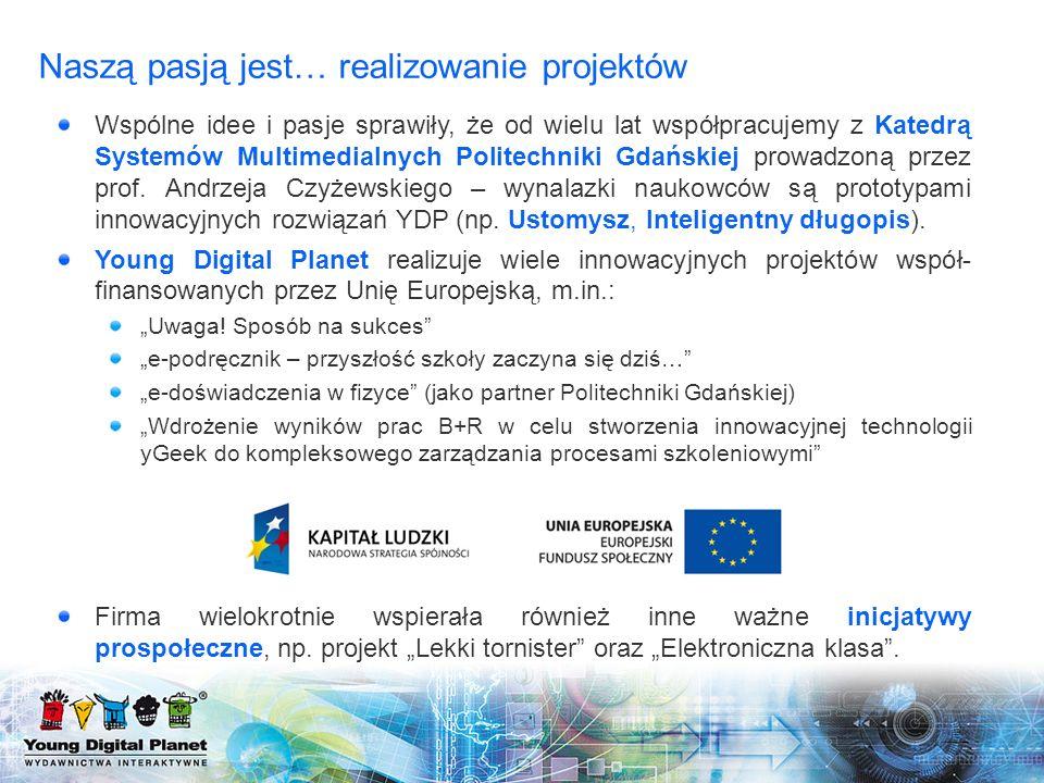 Wspólne idee i pasje sprawiły, że od wielu lat współpracujemy z Katedrą Systemów Multimedialnych Politechniki Gdańskiej prowadzoną przez prof. Andrzej