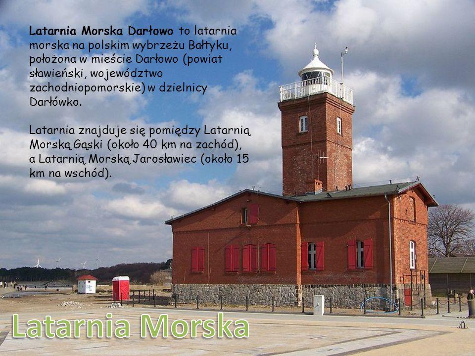 Zamek Książąt Pomorskich w Darłowie – jedyny w Polsce nadmorski gotycki zamek wybudowany na planie zbliżonym do kwadratu z wieżą wysokości 24 metrów.