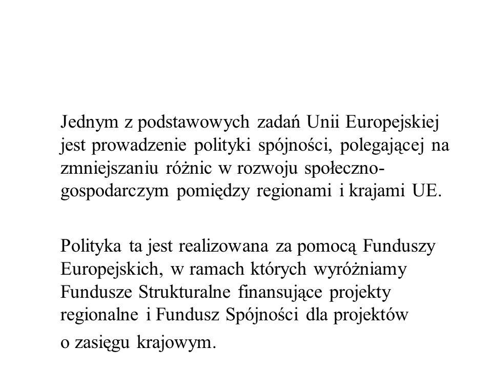 Zasady działania Regionalnej Polityki Strukturalnej i Funduszy Strukturalnych Zasada pomocniczości (subsydiarności) Zasada koncentracji Zasada partnerstwa Zasada programowania Zasada współfinansowania