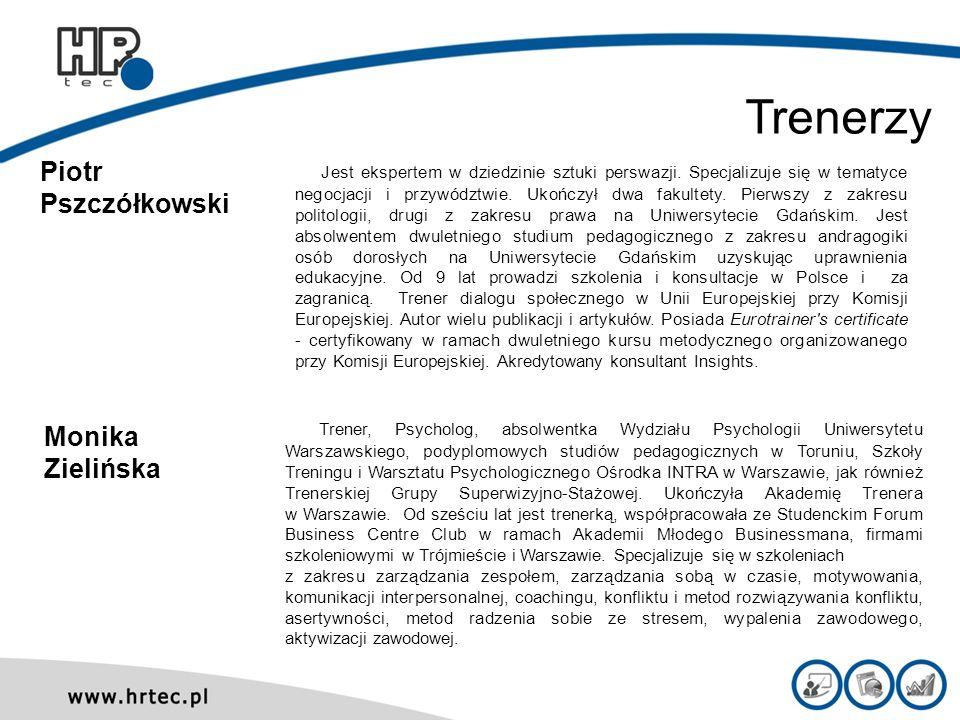 Piotr Pszczółkowski Jest ekspertem w dziedzinie sztuki perswazji. Specjalizuje się w tematyce negocjacji i przywództwie. Ukończył dwa fakultety. Pierw