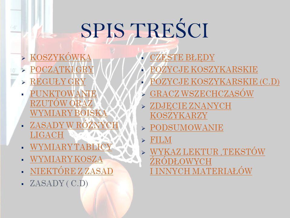 Koszykówka jest to dyscyplina sportu drużynowego, w której dwie pięcioosobowe drużyny grają przeciwko sobie próbując zdobyć punkty umieszczając piłkę w koszu.