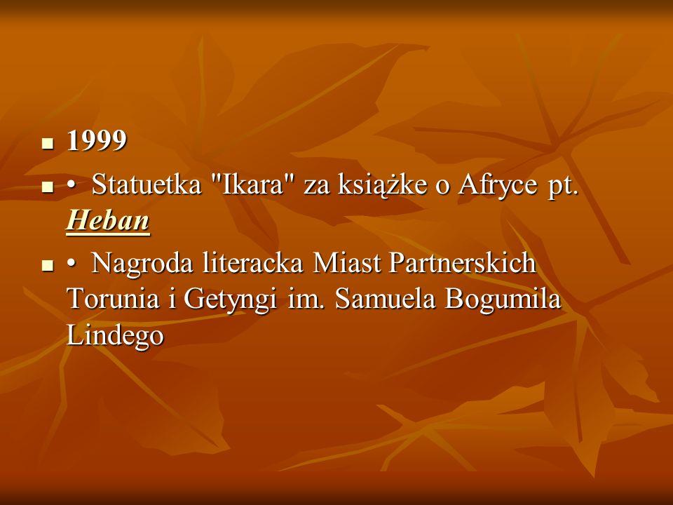 1999 1999 Statuetka