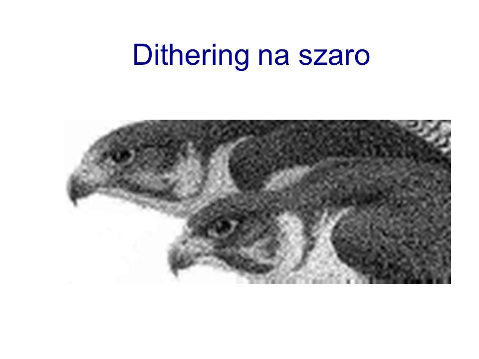 Dithering na szaro
