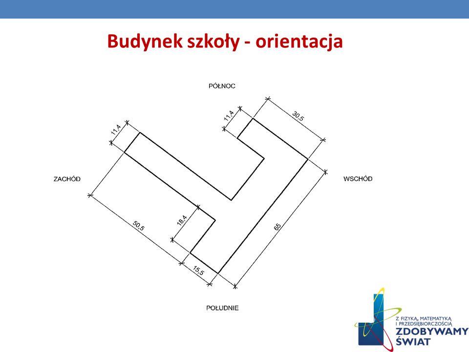 Budynek szkoły - orientacja